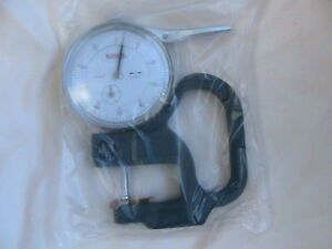 1 New Spi Dial Thickness Gage 13 152 4 0 0 5 X 001