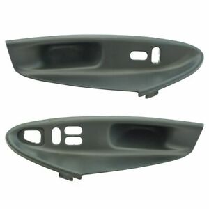 Door Window Switch Bezel Panel Housing Pair Lh Rh For Ford Mustang Coupe New