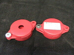 2 New Brady Gate Valve Lockouts 65560