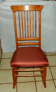 Maple Sewing Rocker Rocking Chair R239