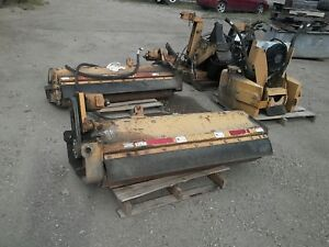 Tiger T3f 216c Side Mounted Flail Mower Hydraulic Pulled Of Jd5525 Bobcat