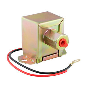 12v Low Pressure Electric Fuel Pump 5 16 8mm Universal With 2 4 Psi