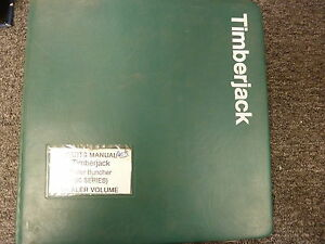 Timberjack 50 Series 850 950 Feller Bunchers Parts Catalog Manual Book