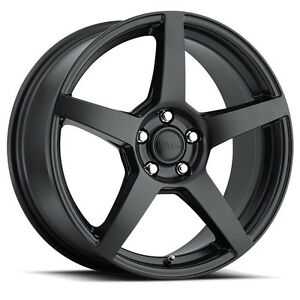 15 Voxx Mga Black Wheels Rims 4x100 4x4 5 4 Lug Honda Acura Toyota Vw More