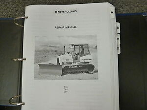 New Holland D75 D85 D95 Crawler Tractor Dozer Shop Service Repair Manual Book