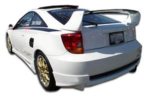 00 05 Toyota Celica Duraflex Td3000 Rear Lip Air Dam 1pc Body Kit 100195