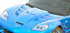 05 13 Chevrolet Corvette C6 Duraflex Zr Edition 2 Hood 1pc Body Kit 106141