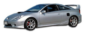 00 05 Toyota Celica Duraflex Td3000 Side Skirts Rocker Panels 2pc 100196