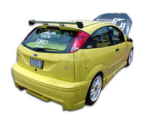 00 07 Ford Focus Zx3 Duraflex Evo Rear Bumper 1pc Body Kit 100052