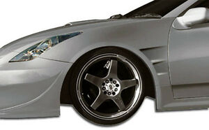 00 05 Toyota Celica Duraflex Gt300 Wide Body Front Fenders 2pc 104511