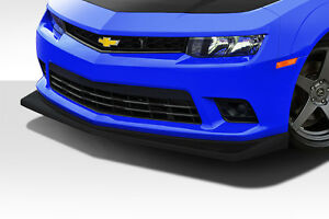2014 2015 Chevrolet Camaro V8 Z28 Look Front Lip Spoiler 1 Pc 112365