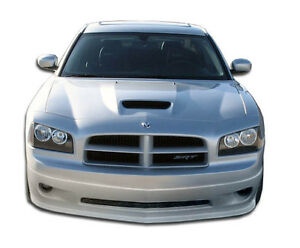 06 10 Dodge Charger Duraflex Vip Front Lip Base Model 103329