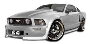 05 09 Ford Mustang Duraflex Eleanor Body Kit 4pc 104866