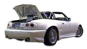 90 97 Mazda Miata Duraflex Vader Rear Lip Air Dam 1pc Body Kit 100962