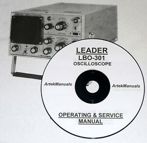 Leader Lbo 301 Oscilloscope Operating Service Manual