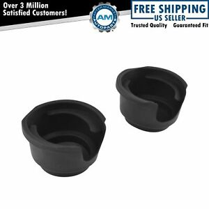 Cup Holder Insert Front Pair Set Of 2 Lh Rh For Chevy Astro Gmc Safari Van New