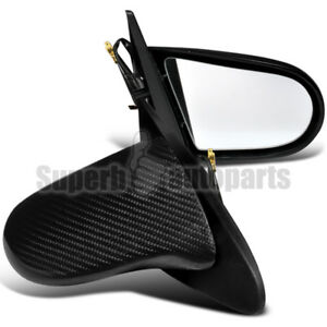 For 2002 2006 Acura Rsx Dc5 Real Carbon Fiber Cf Power Side Mirrors