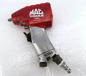 Mac Tools 1 4 Air Impact Wrench Aw850 With Pb850 Protective Boot