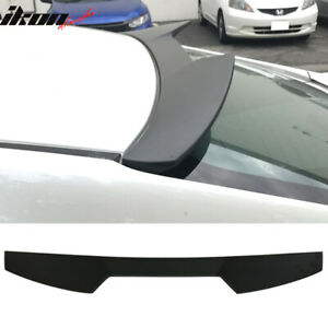 16 18 Honda Civic X 10th Gen Sedan 4dr V Style Roof Spoiler Wing Abs