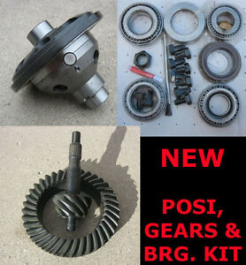 8 Ford Trac Lock Posi Gear Bearing Kit Package 3 80 Ratio 8 Inch New