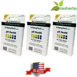 Ph Test Strips Saliva And Urine Tests Acid alkaline Body Balance Quick 300 Count