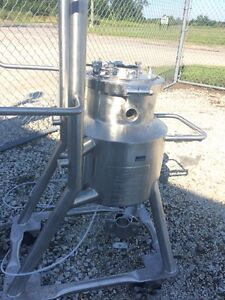 12555 001 Used Dci 10 Liter Stainless Steel Reactor Body