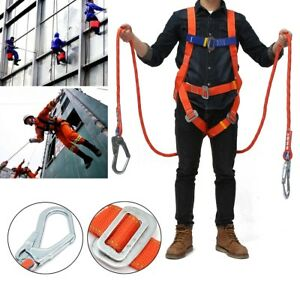 Outdoor Full Body Rescue Climbing Safety Belt Rappelling Aloft Work Construction