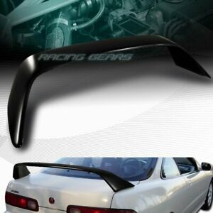 Type r Style Black Painted Rear Trunk Spoiler Wing Fit 94 01 Acura Integra 2 dr