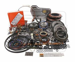 4l60e Chevy Transmission Power Pack Performance Deluxe Lvl 2 Rebuild Kit 04 On
