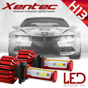 Xentec Led Hid Headlight Conversion Kit H13 9008 6000k For 2008 2011 Ford