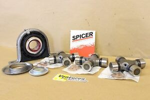 Carrier Support Bearing And Greasable U Joint Kit Dodge Ram 2500 Rear Driveshaft