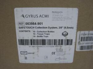New Gyrus Acmi Safetouch Collection System 2 8 10pk Ref 003984 901 Man 03 16 17