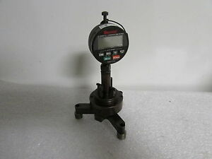 Starrett Digital Indicator F2710 1 With Starrett Screw Thread Gage Component