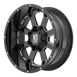 20 20x10 Xd825 Xd Buck 8x180 2011 Chevy Gmc 33 Mt Wheel And Tire Package