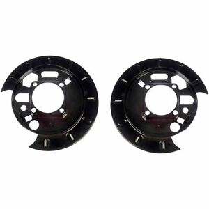 Dorman Brake Backing Plates Set Of 2 Rear New For Chevy Olds 924 208