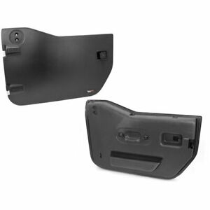 Rugged Ridge Set Of 2 Half Doors Front New Jeep Wrangler 11509 01