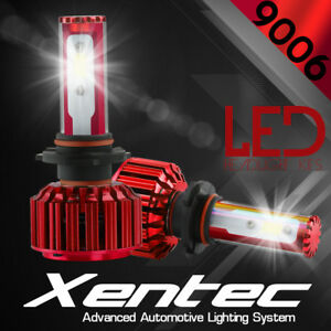 Xentec 9006 Hb4 Led Headlight Kit Cree 60w 6000k 7600lm Bulbs Pair White