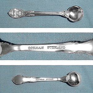 Gorham Sterling Individual Salt Spoon S King Edward No Mono