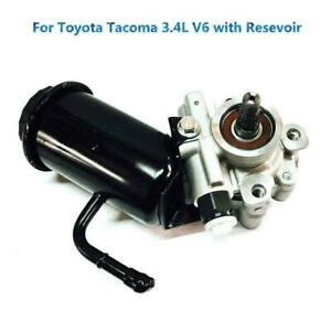 New Power Steering Pump With Resevoir For Toyota Tacoma 4runner 3 4l V6 5478n