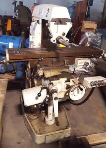 Sajo Swedish Horizontal Milling Machine Loaded With Cutters