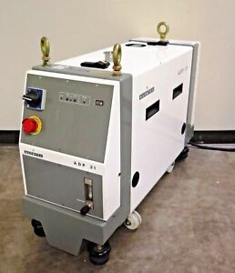 Alcatel Dry Vacuum Pump Model Bf Adp 31 M1 Tested