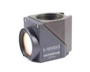 Olympus U mniba3 Fluorescence Filter Cube For Bx2 Ix2 Series Microscope