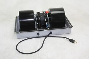Cabtron Industrial Double Inlet Centrifugal Fan Blower With Cover 115v Bl300 193