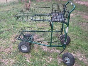 Used Grocery Cart Shopping Cart Handling Material Large Cart