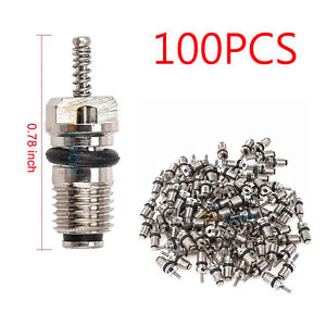 100pcs Auto Air Conditioning Repair Tool For R134a High Pressure Valve Core Hvac