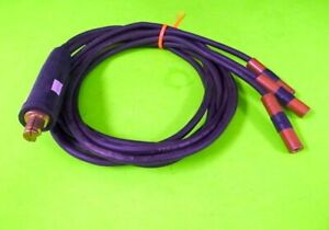 Welding Cable Assembly W 3 6 foot Lengths And Tweco 24r mbp Connector