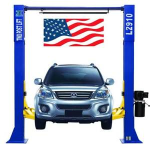 9 000 Lb L2910 2 Post Lift Car Lift Auto Truck Hoist Free Shipping 220v