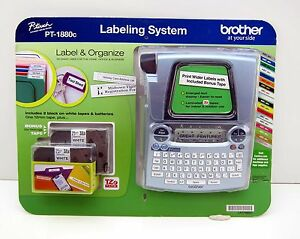 New Brother Pt 1880c P Touch Label Maker Electronic Labeling System Maker
