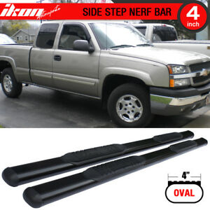 Fits 99 13 Chevy Silverado Gmc Sierra Extended Cab Side Step Bar Running Boards