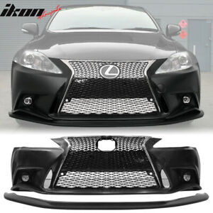 Fits 06 13 Lexus Is250 Is350 F Sport Front Bumper 2is To 3is Conversion